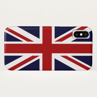 Coque iPhone X Union Jack