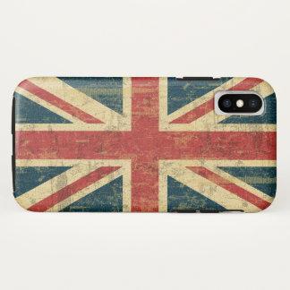 Coque iPhone X Union Jack sale