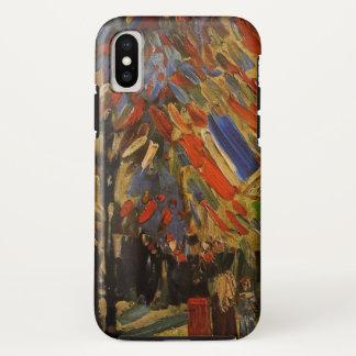 Coque iPhone X Van Gogh ; 14ème de la célébration de juillet à