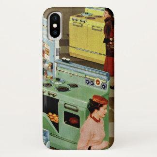 Coque iPhone X Vente au détail vintage d'affaires, magasin de