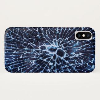 Coque iPhone X Verre brisé