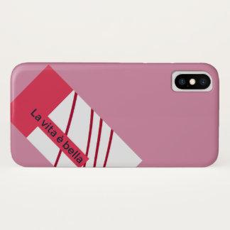 Coque iPhone X Vida e Bella de La