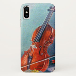 Coque iPhone X Violon/Violon