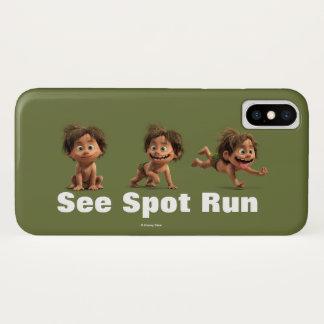 Coque iPhone X Voir la tache courir