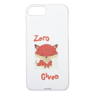 Coque iphone zéro de Fox de bébé donné par Fox