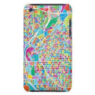 Coque iPod Case-Mate Carte colorée de Denver