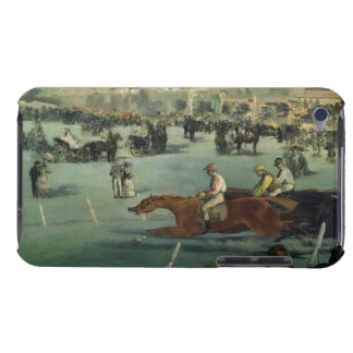 Coque iPod Case-Mate Course de chevaux de Manet |, 1872