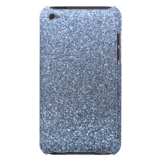 Coque iPod Case-Mate Parties scintillantes bleues en pastel