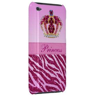 Coque iPod Case-Mate Princesse imprimée par rose Crown et parties