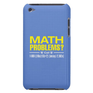 Coque iPod Case-Mate Problèmes de maths