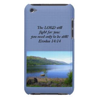 Coque iPod Touch 14h14 d'exode de cas d'Iphone chrétien ou d'Ipad