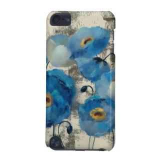 Coque iPod Touch 5G Aigue-marine florale