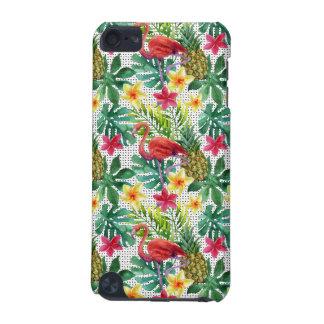 Coque iPod Touch 5G Aquarelle tropicale