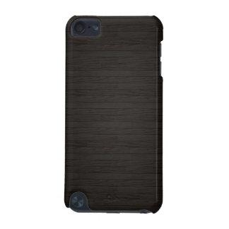 Coque iPod Touch 5G Caisse en bois foncée d'iPod 5 de finition de faux