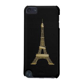 Coque iPod Touch 5G Caisse noire française du contact 5g d'iPod de