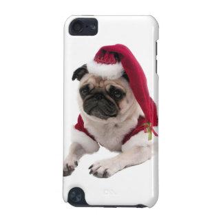 Coque iPod Touch 5G Carlin de Noël - chien du père noël - poursuivez