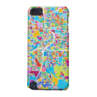 Coque iPod Touch 5G Carte colorée d'Atlanta