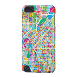 Coque iPod Touch 5G Carte colorée de Denver