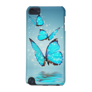 Coque iPod Touch 5G Cas magique du contact 5G d'iPod de papillons