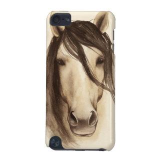 Coque iPod Touch 5G Cheval des animaux | de grange d'aquarelle