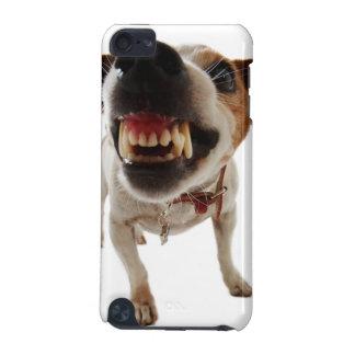 Coque iPod Touch 5G Chien agressif - chien fâché - chien drôle