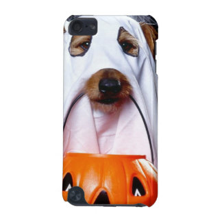 Coque iPod Touch 5G Chien de fantôme - chien drôle - poursuivez