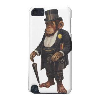 Coque iPod Touch 5G Chimpanzé drôle - rétro singe - monkey le