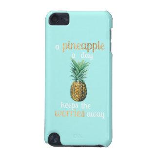 Coque iPod Touch 5G Citation de la vie d'ananas