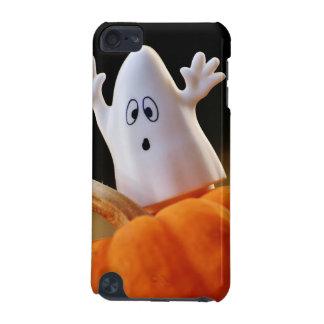Coque iPod Touch 5G Citrouille et fantôme - fantôme drôle - citrouille