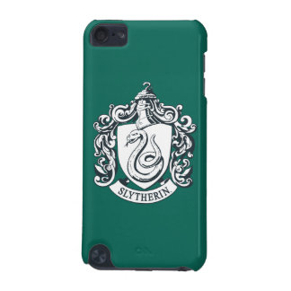 Coque iPod Touch 5G Crête de Harry Potter | Slytherin - noire et