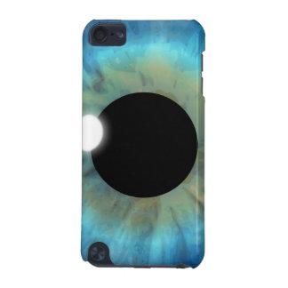 Coque iPod Touch 5G Élève saisissant de globe oculaire d'iris d'oeil