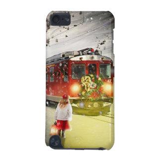 Coque iPod Touch 5G Express de Pôle Nord - train de Noël - train de