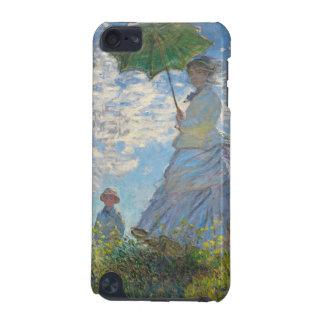 Coque iPod Touch 5G Femme de Claude Monet   avec un parasol
