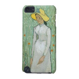 Coque iPod Touch 5G Fille de Vincent van Gogh   dans le blanc, 1890
