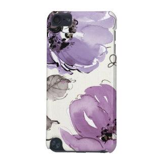 Coque iPod Touch 5G Fleurs pourpres