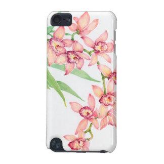 Coque iPod Touch 5G Fleurs roses d'aquarelle