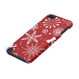 Coque iPod Touch 5G Flocons de neige au coeur