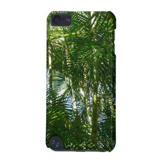 Coque iPod Touch 5G Forêt de vert tropical de palmiers