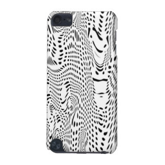 Coque iPod Touch 5G IPod Touch 5G Case - Abstract Warped Dots Pattern