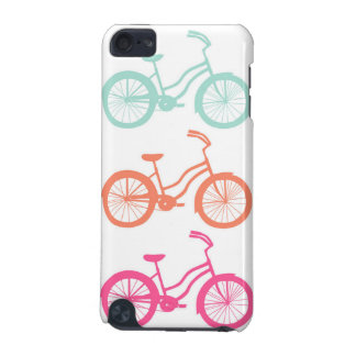 Coque iPod Touch 5G IPod Touch 5G Case - Multicolor Bicycle Pattern