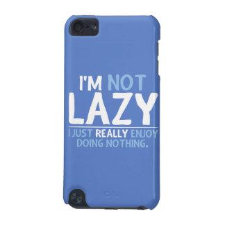 Coque iPod Touch 5G Je ne suis pas paresseux