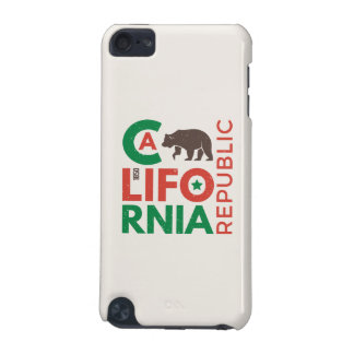 Coque iPod Touch 5G La Californie avec le logo d'ours gris