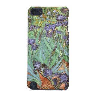 Coque iPod Touch 5G Les iris par Vincent van Gogh, cru fleurit l'art