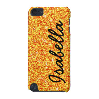 COQUE iPod TOUCH 5G LES PARTIES SCINTILLANTES ORANGES GIRLY ONT