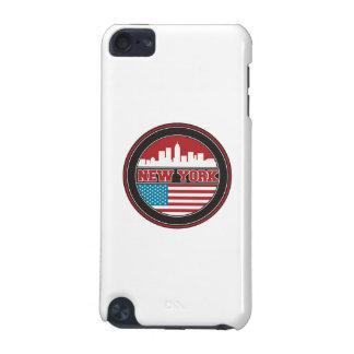 Coque iPod Touch 5G L'horizon | Etats-Unis de New York diminuent
