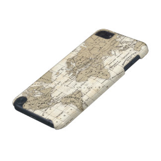 Coque iPod Touch 5G Mappemonde