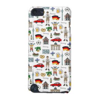 Coque iPod Touch 5G Motif de symboles de l'Allemagne |