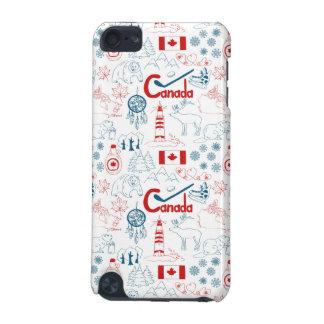 Coque iPod Touch 5G Motif de symboles du Canada |