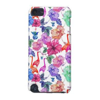 Coque iPod Touch 5G Motif tropical d'aquarelle