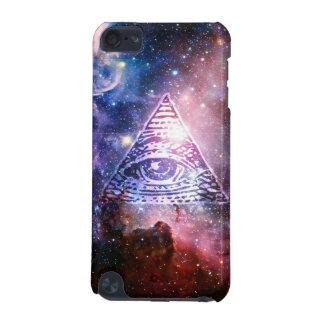 Coque iPod Touch 5G Nébuleuse d'Illuminati